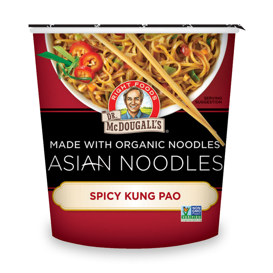 Asian Noodles Spicy Kung Pao Soup Cup