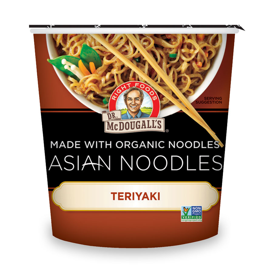 Asian Noodles Teriyaki Soup Cup