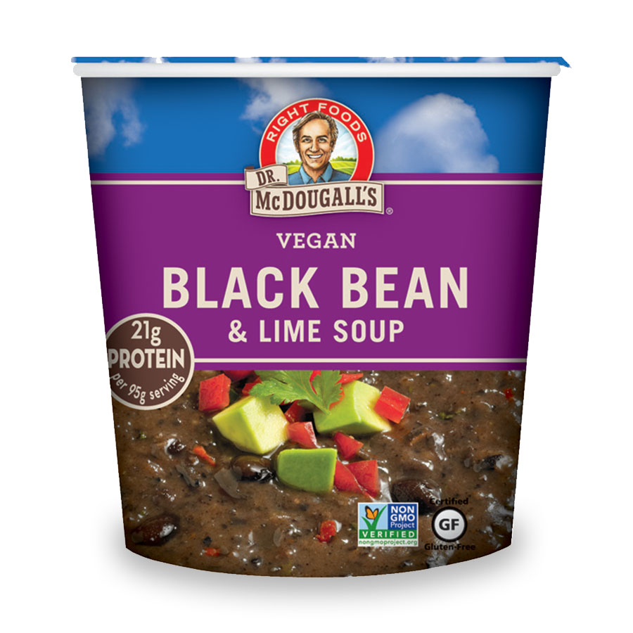 Black Bean & Lime Gluten Free Soup Big Cup