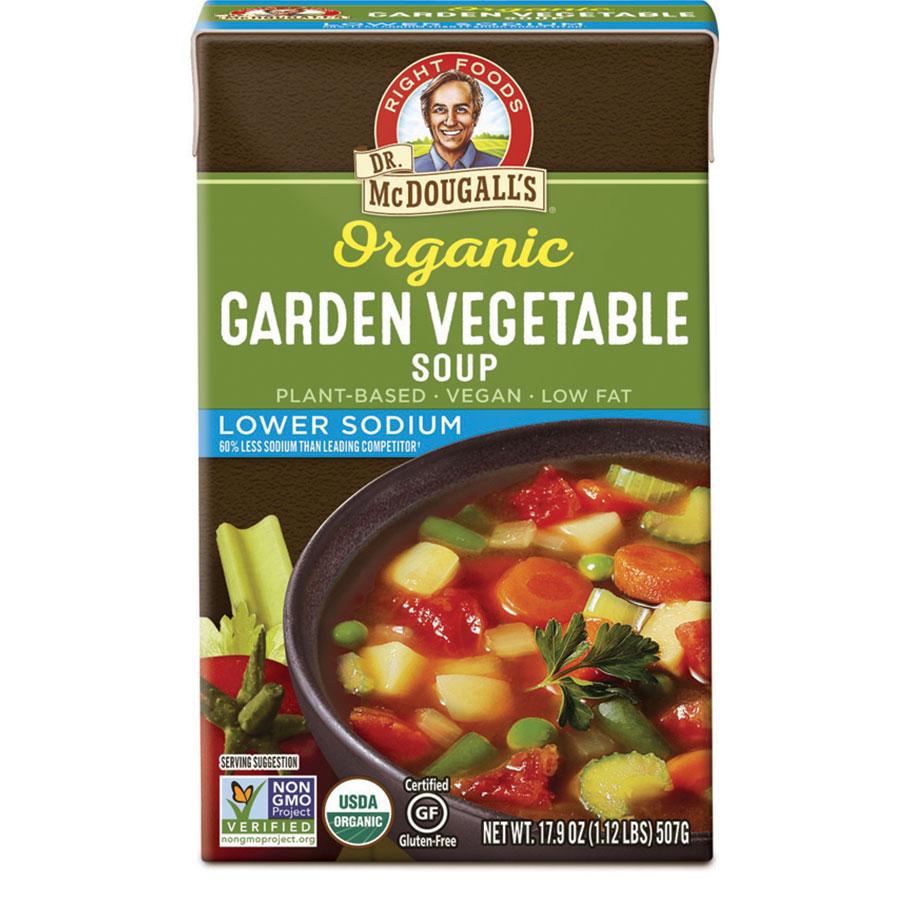 Garden Vegetable Lower Sodium Soup