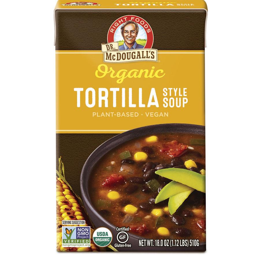 Organic Tortilla Gluten Free Soup