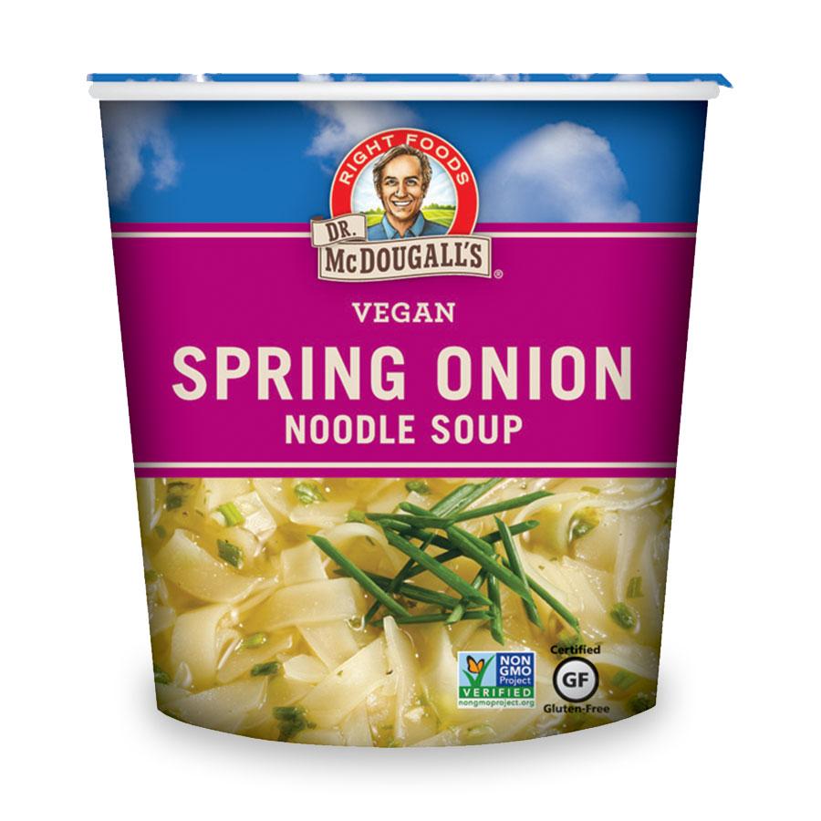 Spring Onion Vegan Noodle Soup Big Cup